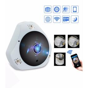Mini Espiã Câmera Ip Hd Infravermelho 360º Android Hd 8cm