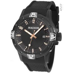 8c40e70ef96 Relogio Masculino De Luxo Emborrachado Magnum - Relógios De Pulso no ...