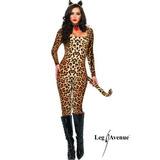Disfraz Leg Avenue Tigresa Cafe Talla S,m