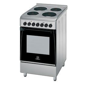 Cocina Eléctrica Indesit Acero Inoxidable Kn3e51x