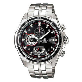 Relógio Casio Edifice Ef-565d-1av Masculino Luxuoso 100 M