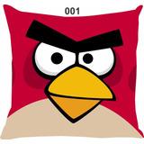 Capa De Almofada 45x45cm Angry Birds! Diversas Estampas