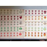 Escudos Clubes E Seleções Futebol De Botão Mesa