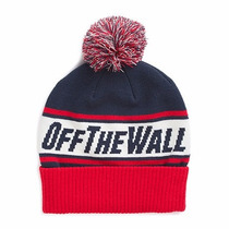 Gorro Beanie Vans Mn Off The Wall Pom Racing Red/dres