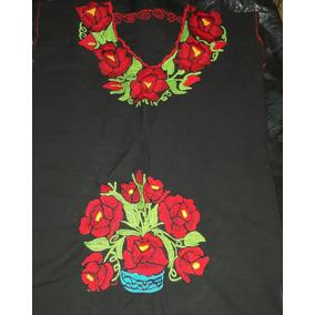 Remato!vestidos Tipicos Bordados A Mano Unitalla Y Xl