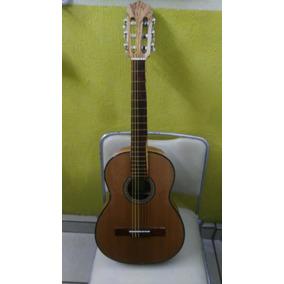 Guitarra Para Niño De Palo Escrito!! Con Estuche Y Plumilla