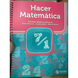 Hacer Matematica 7/1 Editorial Estrada Nuevo