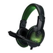 Auricular Gamer Spartan Bkt H71 C/micrófono Usb 3.5 Castelar