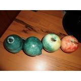 Juego De Frutas De Arte Murano Vintage