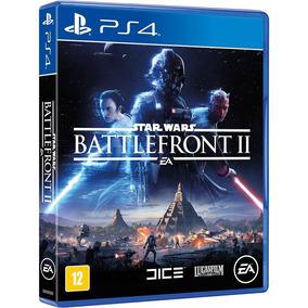 Jogo Star Wars Battlefront 2 Ps4 Br Mídia Física Promoção