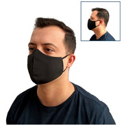 Combo 15 Máscaras Tecido Duplo Lavável Proteção Reutilizável