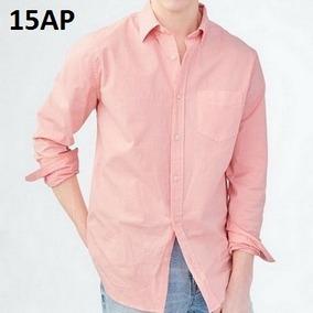 L - Camisa Aeropostale Rosa C15ap Ropa Hombre 100% Original