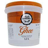 Balde Manteiga Ghee 3,2l Clarificada Original - Madhu Bakery