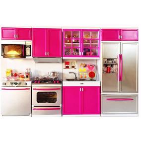 Kit Cozinha Infantil Com Luz E Som 4x1