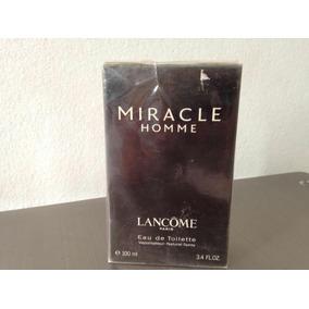 Perfume Miracle Homme Lancome 100ml Lacrado Raridade Extrema