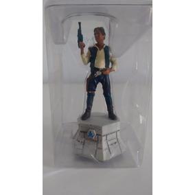 Miniatura Xadrez Star Wars - Han Solo (bispo Branco)