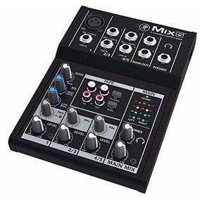 Mezcladora Mackie Mix Series Mix5 De 5 Canales