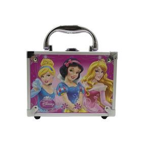 Maleta Maquiagem Kit Infantil Princesas Moranguinho