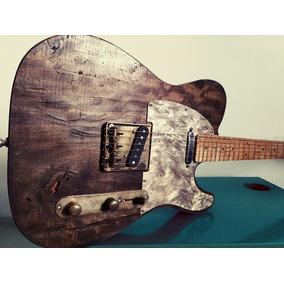 Telecaster Custom Rustic Obra De Arte Instrumento Único!!!
