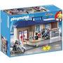 Playmobil 5299 Maletin Estacion D Policia Rescate Retromex