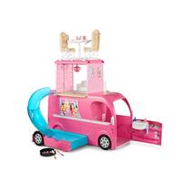 Barbie Family-mega Trailer Pop-up Camper Mattel Cjt42