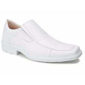 Sapato Masculino Branco- Enfermagem- Trabalhar - Uniforme