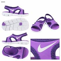 Sandalias Nike 100% Original De Nina Talla 7-24