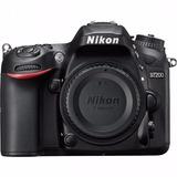 Camara Nikon Dslr D7200 Aps-c Dx Solo Cuerpo Nuevo Full Hd