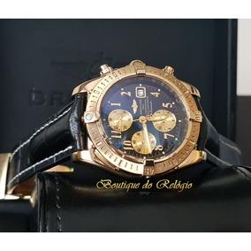 42e357558ff Relogio Breitling Chronomat Todo Ouro - Relógios De Pulso no Mercado ...