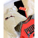 Puma Conjunto Deportivo Niño 100%original No Nike Promoción