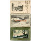 3 Postales A Esperanza Santa Fe Y San Francisco Cordoba