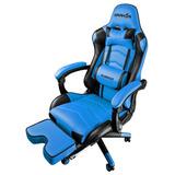 Silla Raidmax Drakon Dk709 Gamer 120kg Regulable 180º Azul