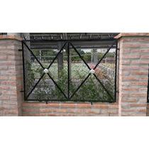 Rejas Frentes Ventanas Puertas Portones En Metal Desplegado