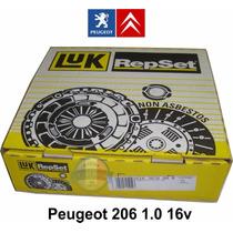 Kit De Embreagem Luk Peugeot 206 1.0 16v