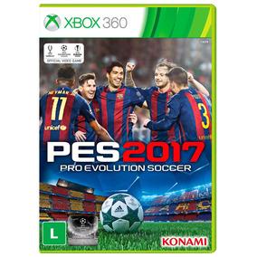 Pro Evolution Soccer 2017 (pes 2017) Para Xbox 360 - Konami
