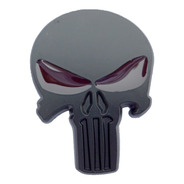 Emblema Punisher Metálico