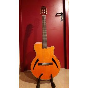 Violão Alemão Harley Benton Cg500ce-am Godin Chet Atkins