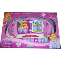 Libro Musical Disney Princesas Ditoys Con Luces Y Sonido!