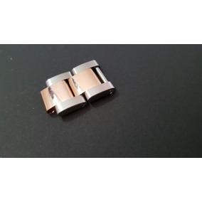 Eslabones Rolex Oro Rosa/acero. Preciosos