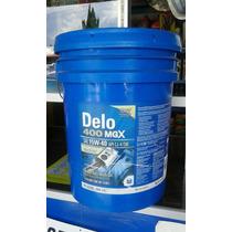 Aceite Motor Diesel Chevron Delo 400 Mgx 15w40 Cubeta 19 Lts