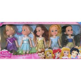 Branca De Neve, Cinderela, Aurora, Bela E Rapunzel Princesas