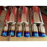 Silenciadores Inoxidable Woolrich Blue Flame Doblres 3.5 C/