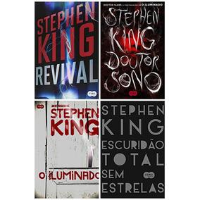 Kit Stephen King 4 Livros Novos E Lacrados