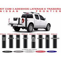 Acessorio Nissan Frontier Faixas Lateral E Traseira Kit 4x4
