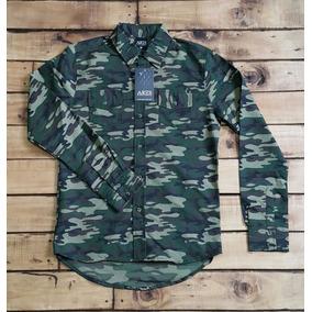 Camisa Militar Ares Verde Moda Urbana