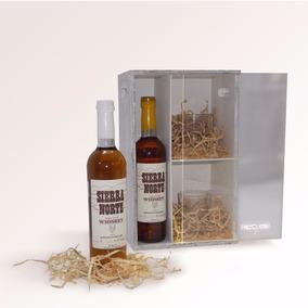Estuche De Whiskey Artesanal Sierra Norte*