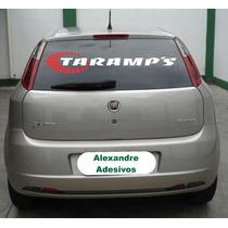 Adesivo Taramps 90cm Para Brisa Tuning Carro Personalizado
