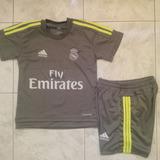 Uniforme Real Madrid Visitante 2016 Cristiano Niño Talla 2 4
