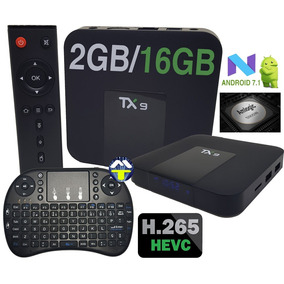 Tv Box Tx9 4k Quadcore 2gb/16gb Android 7.1 + Mini Teclado