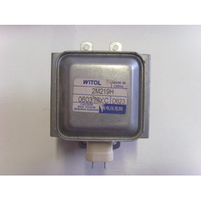 Magnetron Witol 2m219h Para Microondas 100% Funcionando.